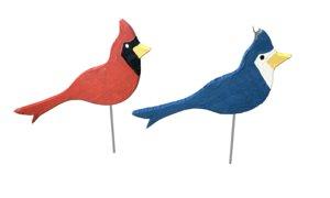 3D duck bird wood model