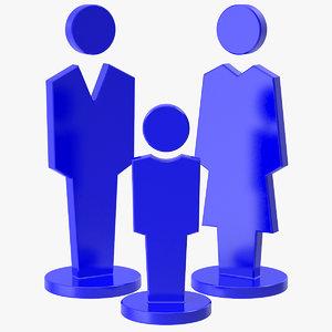 3D icon family