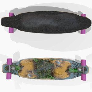 skateboard sport 3D