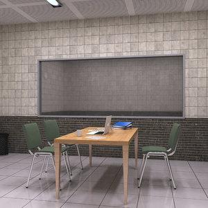 3D interrogation room