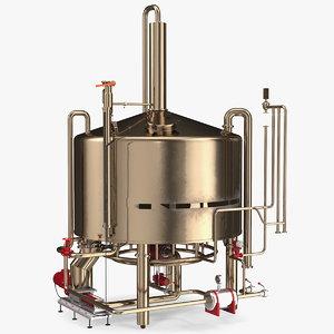 3D alcohol distillation equipment