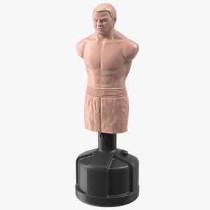 3D boxing body opponent bag model