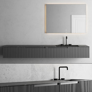 synergy vanity unit mirror 3D model