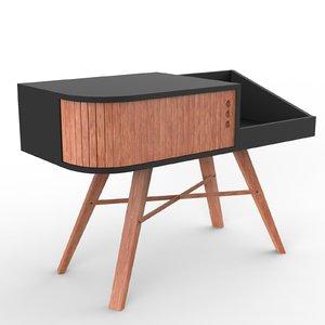 vinyl table 3D