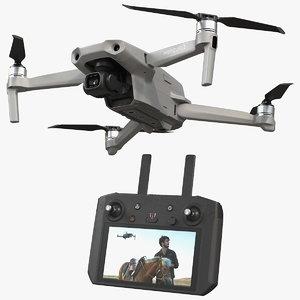 3D dji mavic air2 drone