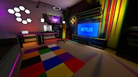 Gamer Live Streamer Room Low-poly