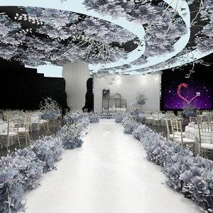 ballroom banquet hall model