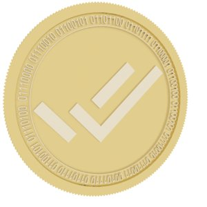 verify cred gold coin model