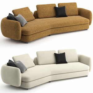 sofa saint germain poliform 3D