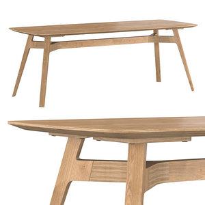 q table 200 3D model