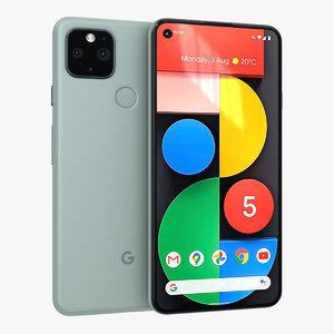 google pixel 5 sorta 3D