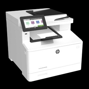 printer hp color laserjet 3D model