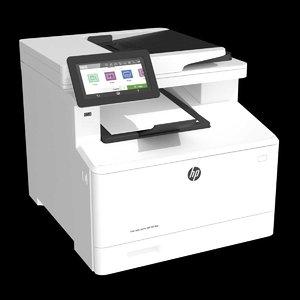 printer hp color laserjet 3D model
