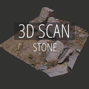 3D scan stone model