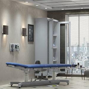 3D exam room
