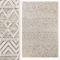 The Curated Nomad Bradrick Trellis Wool Area Rug