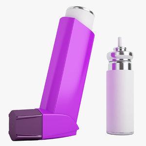 asthma inhalers model