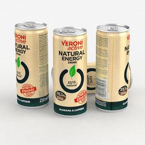 3D beverage drink