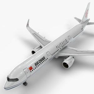 a321 neo air china 3D