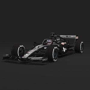 f1 renault car 20 3D model