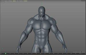 venom mesh 3D