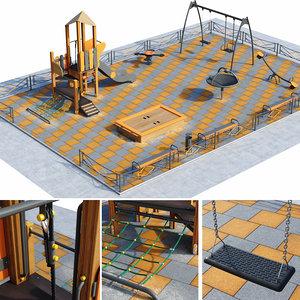 children playground model