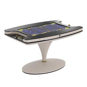 3D table vertigo vismara design model
