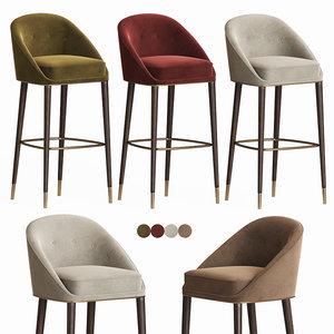 malay bar stool brabbu model