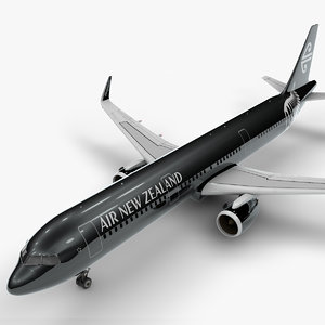 a321 neo air new 3D model