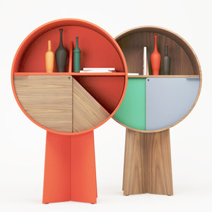 3D luna cabinet coedition