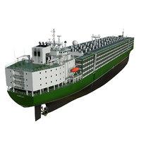Livestock Carrier Green