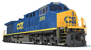 3D csx locomotive