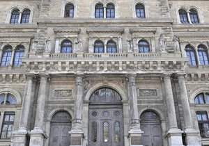 3D palace gate facade model