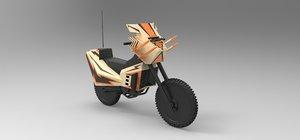 bike megaforce 3D model