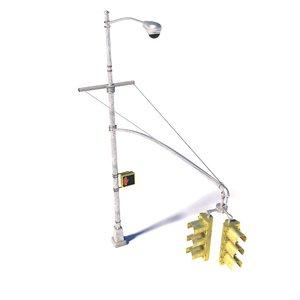 new street lamp traffic light model