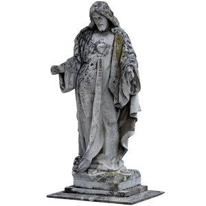 cemetery statue 3D model