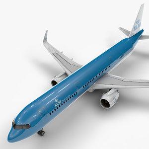 3D model a321 neo klm l1012