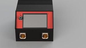 3D electronics enclosure printer