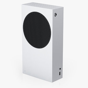 x-box series s console 3D model