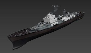 3D model nk ship frigate