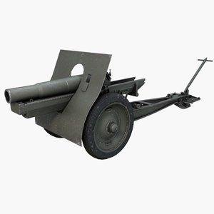 ml-20 152 mm howitzer-gun model