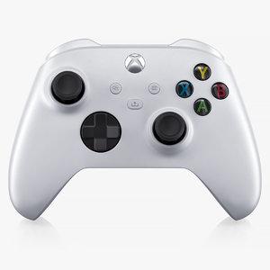 x-box series s controller 3D model