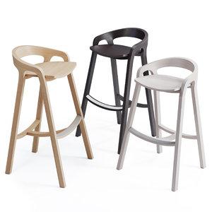 said bar stool mattiazzi 3D model