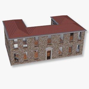 3D mansion