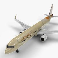 Airbus A321 neo ETIHAD L1017