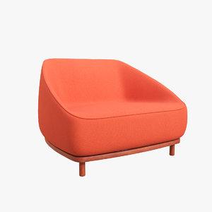 chair v58 3D model