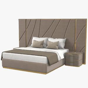 paolo castelli odissea bedroom 3D model