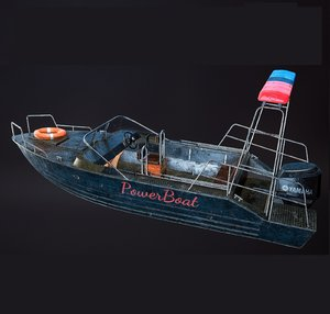 powerboat police 3D