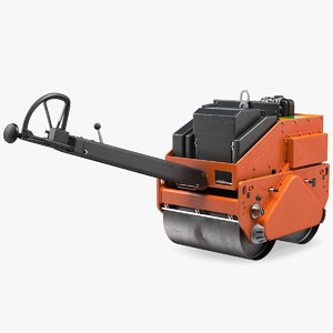 hand guided double vibratory model