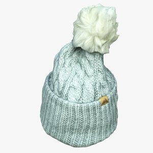 3D knit cap